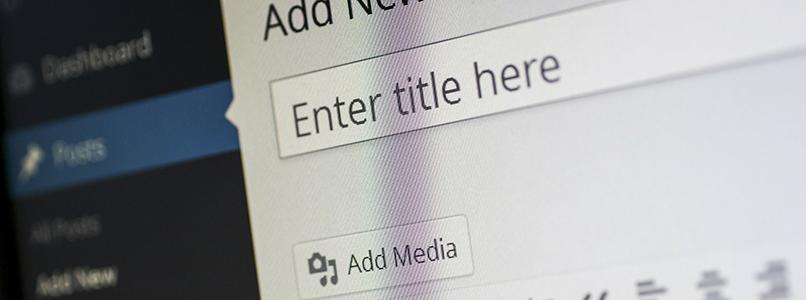 Websites bouwen met WordPress – deel 1
