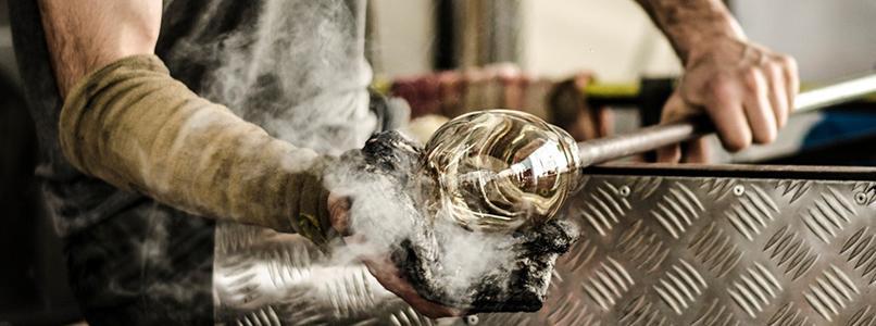 Cursisten Creatief atelier betoverd door glaskunstenaars Gent Glas