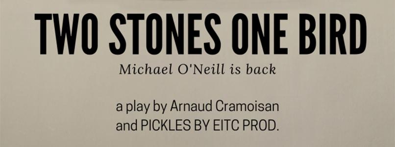 """Engels toneel  """"Two stones, one bird"""""""