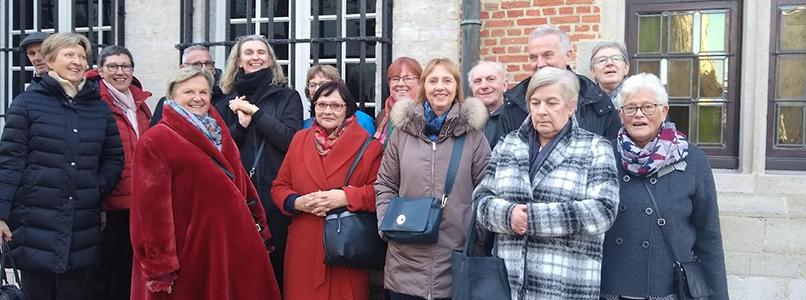 Cursisten Tekenen en Schilderen op stap in Antwerpen