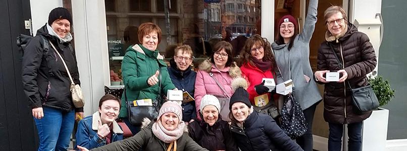 Genoten van Pateekeswandeling te Antwerpen