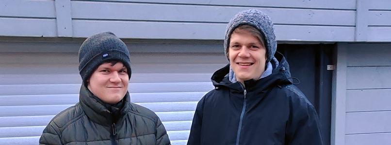 Jarno en Eli sluiten januari af met een diploma op zak