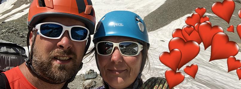 Cindy en Koen overwinnen samen Franse bergtoppen