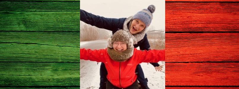 Vriendinnen Karine en Anne dromen van de taal der liefde