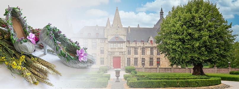 Unieke bloemencreaties fleuren kasteel van Laarne op