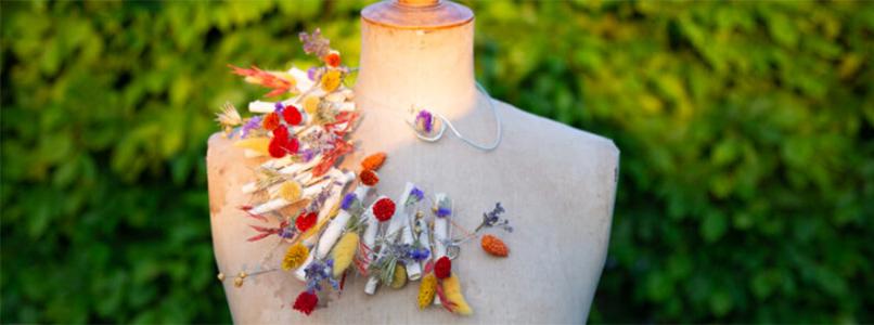 """Bloemencreaties van onze cursisten Florist in vaktijdschrift """"Fleur"""""""