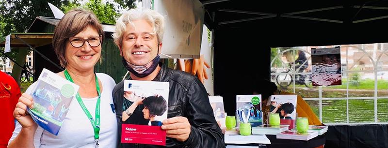 CVO Focus nam deel aan de vrijetijdsmarkt in Lokeren op zaterdag 11 september